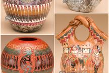 Am Indian pottery