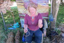 Weald of Kent Craft Fair 2013 / A few snaps of our visit to the Weald of Kent Craft Fair in 2013. See some shots of our very own Natalie making a masterpiece out of willow.