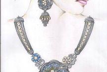 sketch of jewellery