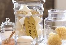 Glass jar decor
