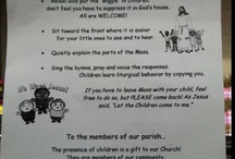 church related goodies  / by Katherine Ficarra