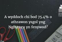 Ystadegau / Statistics / Detholiad o ystadegau o'n crynodeb ystadegau cyntaf fel CGA / A selection of statistics from our first statistics digest as EWC