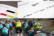 Club Peleton / Club Peloton is the new name for the 10-year-old fundraising charity which specialises in creating busiess networks through cycling. We were engaged to reimagine their brand and that of their rides, Cycle to Mipim, Cycle to Mapic, PedElle and other rides.