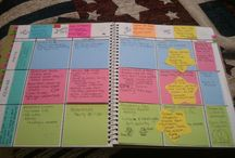 teacher binders/lessons plans