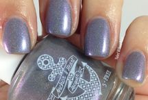 Anchor & Heart Lacquer Swatches