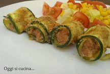 zucchine spiedini