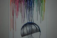 Crayon art!! / by Emily McIndoe