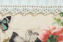 Designs Cards & Scrap 2015 / Gepubliceerd werk in het Nederlandse scraptijdschrift Cards & Scrap.