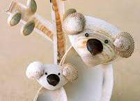 Artigianato con conchiglie