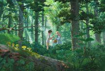 Ghibli & Ghibliesque Inspo