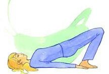 Yoga inverted asanas