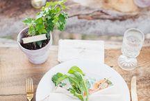 vegie patch healthy wedding
