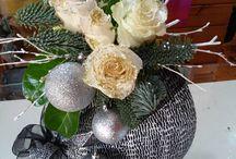Flores en Navidad