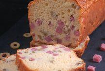 Cake / Un moule, un four, et votre imagination ! Le cake se décline à l'infini... De quoi en faire tout un tableau !
