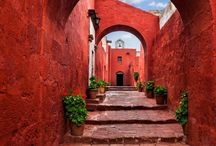 Peru Travel Inspiration / Inspiration and Peru Traveling Tips from the ever popular Machu Picchu to the hidden gems of Arequipa, Lima and other gorgeous cities in Peru.  A vacation to Peru is always a good idea!