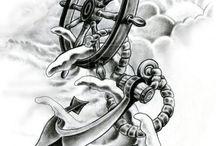 Min neste store tattoo på låret