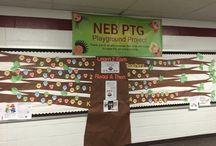 PTA Bulletin Boards, Flyers and Design Ideas! / Are you designing a bulletin board or hallway for your next event? We have collected lots of ideas to help get your creative juices flowing! See if you can find some design inspiration worth pinning!
