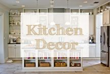 Kitchen Decor / Gathering up my favorite kitchen decorating ideas and accessories that look great as kitchen decor. kitchen decorating ideas | kitchen ideas | kitchen decor |  kitchen themes | kitchen decor themes | kitchen art | kitchen decor ideas | kitchen decorations
