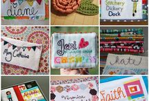Quilty name tags / by Anjeanette