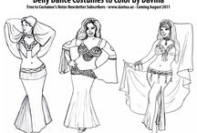 Belly Dancing Costuming / by Laurie Manning
