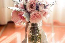 Wedding Flowers in Jar x / by Wisteria Avenue