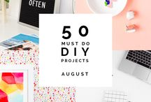 Summer Projects / A collections of fun things to do, see and make in the summertime