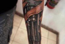 Tatouage sur le bras
