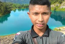 danau biru sawahlunto / nikmati indah nya dunia selama masih bernyawa