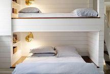 Bunk beds / by Amy Barrutia