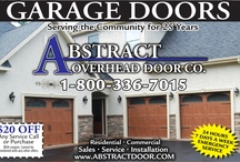 Garage Doors / We provide a complete product line of commercial and residential garages door and service all makes and models.