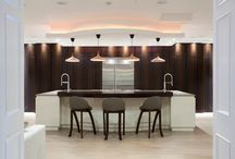 The Design Yard Eucalyptus and Gloss Lacquer Bespoke / Kitchen Design
