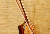 Mongolian Morin Khuur / Traditional Mongolian instrument - horse fiddle