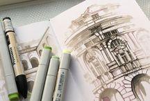 Marker •  Sketch