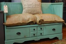 Crafts - Furniture Redo's / by Kathy Hendricks