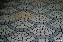 Natural stone Pavers / Natural Stone Pavers surfaces looks stunning in front of your home, whether it is used decorating the home garden, living area, parking , swimming pool, outdoor fireplace and anywhere in outdoor space.