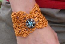 Crochet jewelery