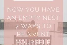 Empty Nesters / What do to when your kids move out, empty nest advice, empty nest tips, empty nest ideas, etc