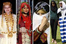 Muslim viselet. tradicionális ruhák.. / Keleti tradicionális  viselet..