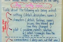 Anchor Charts / by Learning With Mrs. Santillana