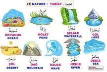 Arabic nature