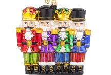 Those Nutty Nutcrackers / When they're not taking ballerinas for a twirl through the Land of Sweets or defeating armies of mice, these fellows have a lot of other things going on! We can always count on the nutcrackers to give us inspiration for new Christmas ornaments.