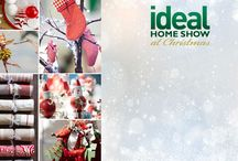 Ideal Home Show Christmas 2016 / Rachael and Anne gave a talk 'How to Style Your Home for Christmas' at this year's show! You can watch their talk at Olympia, London via their website  https://myinteriordesign.school/news/ Be inspired to create a stunning festive interior!