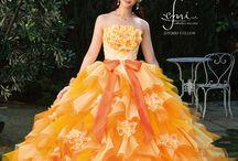 emi in wedding dress