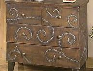 Altered furniture / by Cyndie Crow-Brown