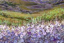 Landscape Textile Art / by Anne Davies