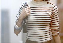 Parisienne style / Icône incarnant le chic français voici la parisienne sous toutes ses coutures :)