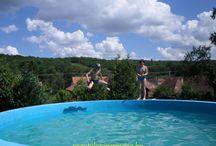 pool / táborozás, nyaralás, medencézés, kikapcsolódás, kirándulás