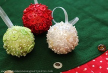 Christmas inspiration / good ideas for all of my buttons & more! / by Naturally Made { Emily Habel }