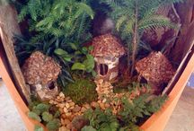 Fairy Homes and Miniature Gardens