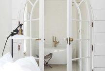 White decor design branco total